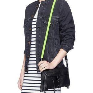 NWT Rebecca minkoff mini mac Crossbody Bag black N